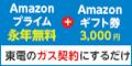東京電力「TEPCO 電気・ガス」 とくとくガスAPプラン